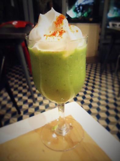 Toute nouvelle recette : le Gaspacho vert de Titine.
